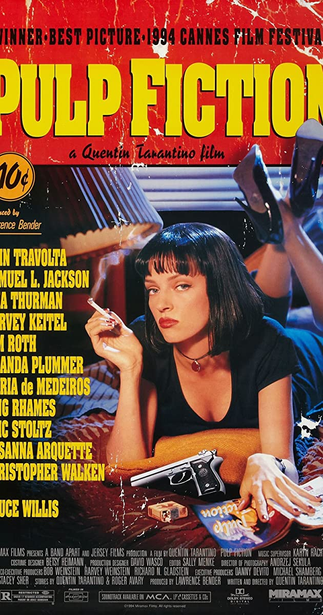 Pulp Fiction Tempo de Violencia Legendado
