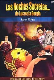 The Secret Nights of Lucrezia Borgia Poster