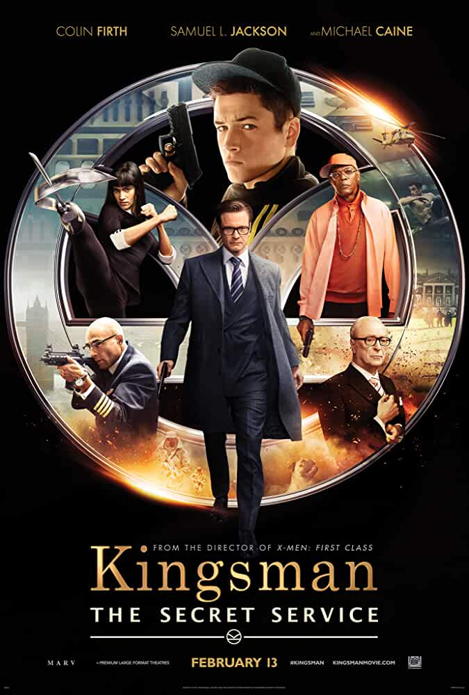 Poster Kingsman: The Secret Service (2014) Full HD Movie Download Hindi Dubbed