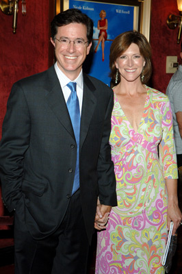 Stephen Colbert and Evelyn McGee at Bewitched (2005)