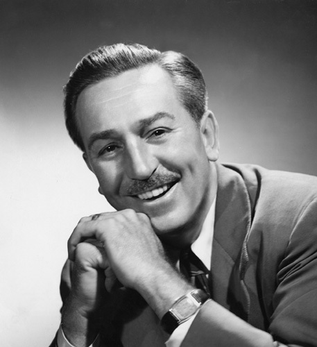 Walt Disney, portrait, 1956