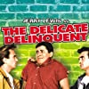 Jerry Lewis, Richard Bakalyan, and Robert Ivers in The Delicate Delinquent (1957)