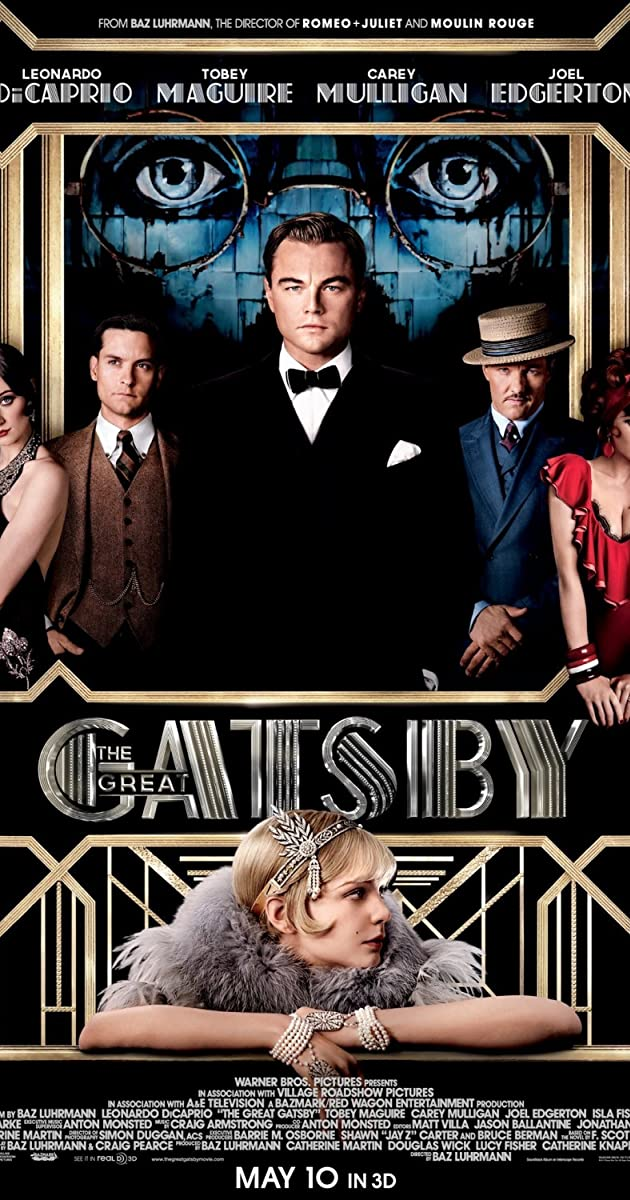 The Great Gatsby......?