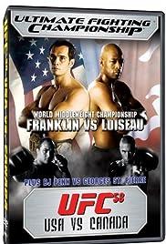 UFC 58: USA vs. Canada Poster