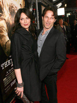 Michelle Forbes and Stephen Moyer at The Pacific (2010)