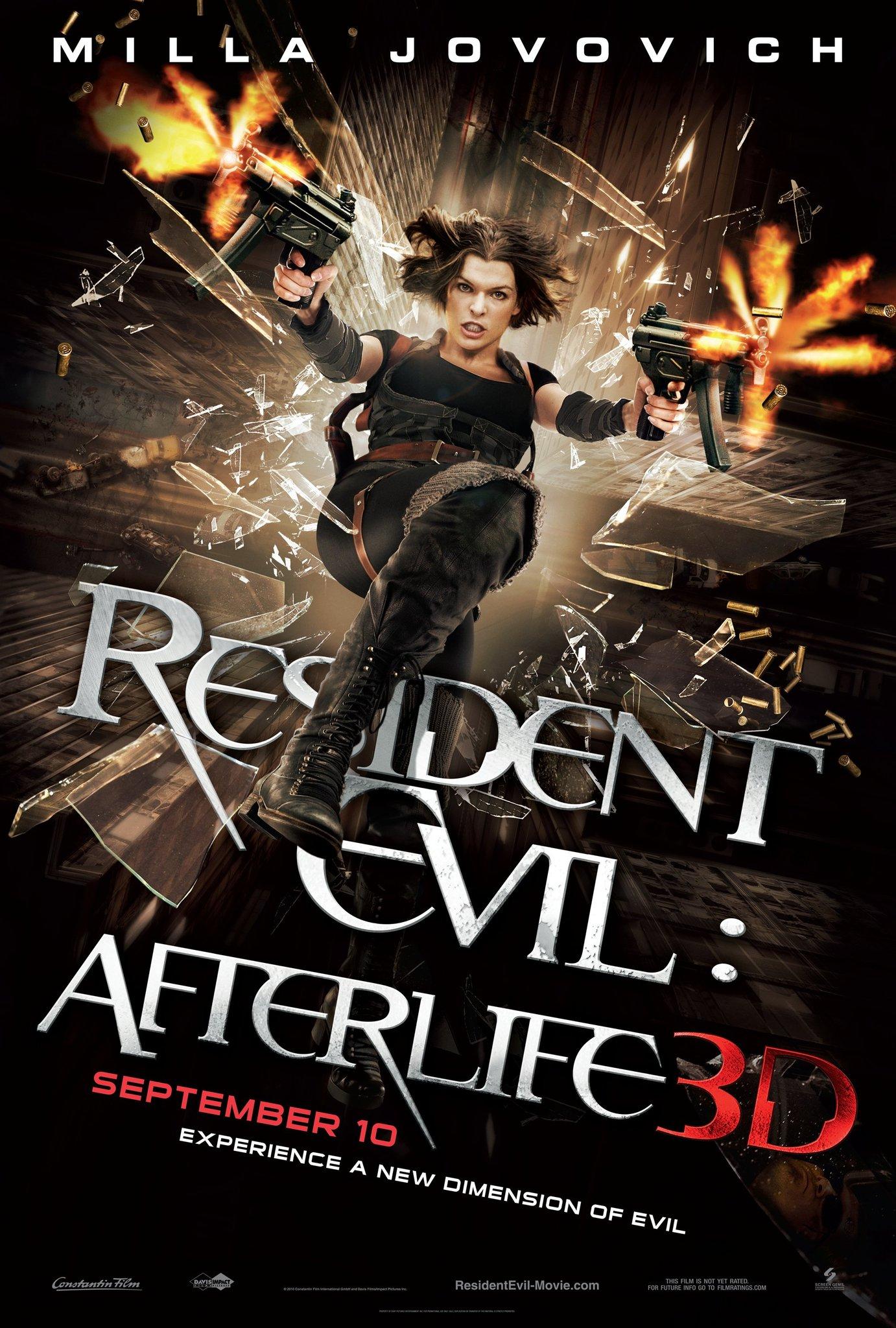 Resident evil afterlife wesker
