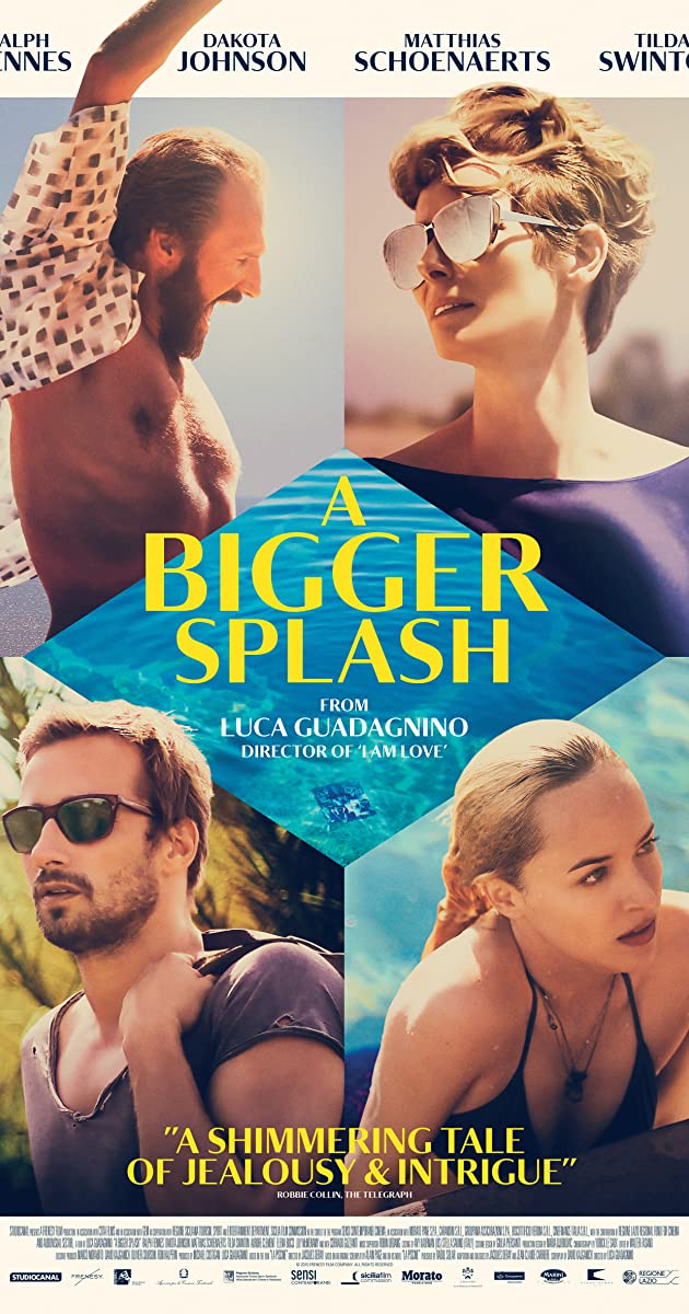 Didesni purslai / A Bigger Splash (2015)