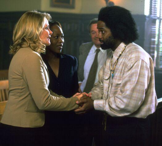 Wallis and Clara with the Magic Man