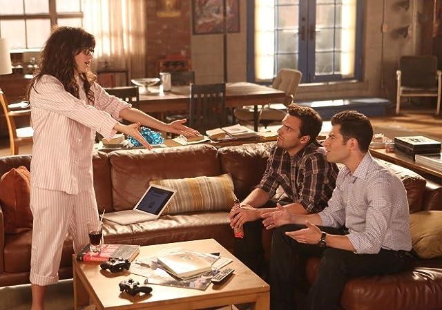 Zooey Deschanel and Jake Johnson in New Girl (2011)