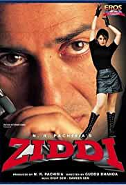 ZIDDI (1997) Hindi Movie WebHD 700MB mkv