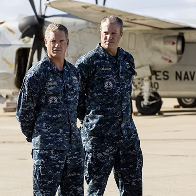 Adam Baldwin and Eric Dane in The Last Ship (2014)