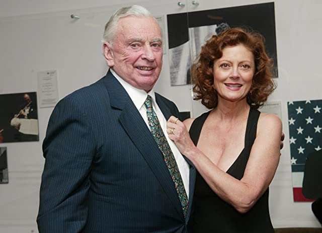 Susan Sarandon and Gore Vidal
