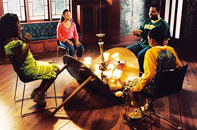 Nia Long, Ice Cube, Aleisha Allen, and Philip Bolden in Are We Done Yet? (2007)