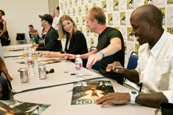 Paul Bettany, Tyrese Gibson, and Adrianne Palicki