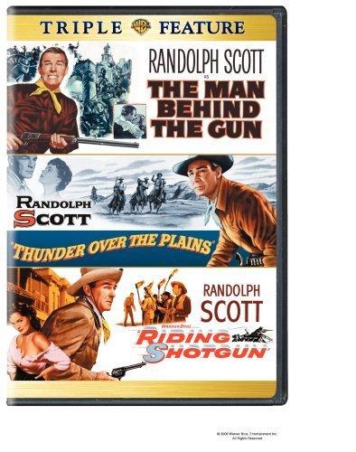 Randolph Scott in The Man Behind the Gun (1953)