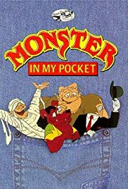 Monster in My Pocket: The Big Scream Poster