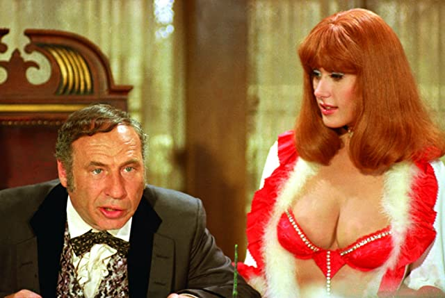 Mel Brooks and Robyn Hilton in Blazing Saddles (1974)