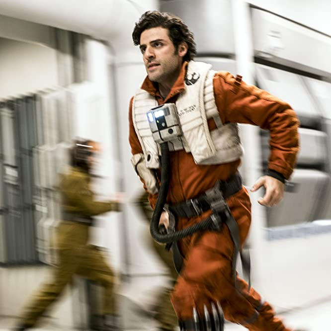 Oscar Isaac in Star Wars: The Last Jedi (2017)