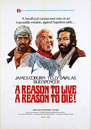 A Reason to Live, a Reason to Die Pelicula Poster