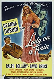 Lady on a Train(1945) Poster - Movie Forum, Cast, Reviews