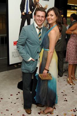 Keir O'Donnell and Melanie Hawkins at Wedding Crashers (2005)