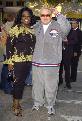 Louie Anderson and Tess Drake at Soul Plane (2004)