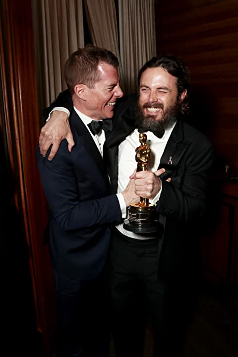 Casey Affleck and Kevin Walsh at an event for The 89th Annual Academy Awards (2017)