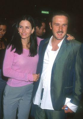 David Arquette and Courteney Cox at Sugar Town (1999)