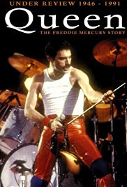 Queen: Under Review 1946-1991 - The Freddie Mercury Story Poster