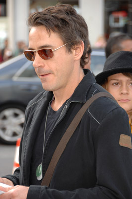 Robert Downey Jr. at Happy Feet (2006)