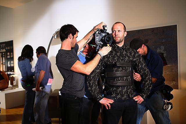 Mark Neveldine and Jason Statham in Crank (2006)