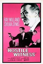 Hostile Witness(1968) Poster - Movie Forum, Cast, Reviews