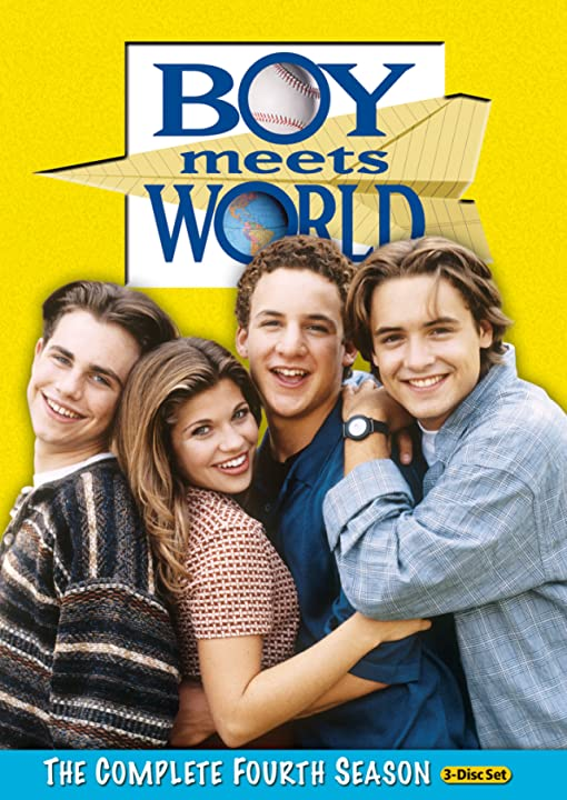 Danielle Fishel, Ben Savage, Will Friedle, and Rider Strong in Boy Meets World (1993)