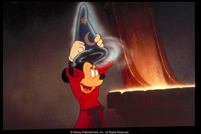 Scene from The Sorcerer's Apprentice