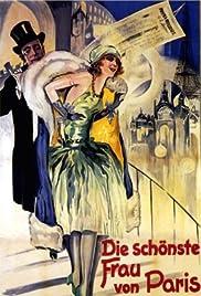 Die schönste Frau von Paris Poster