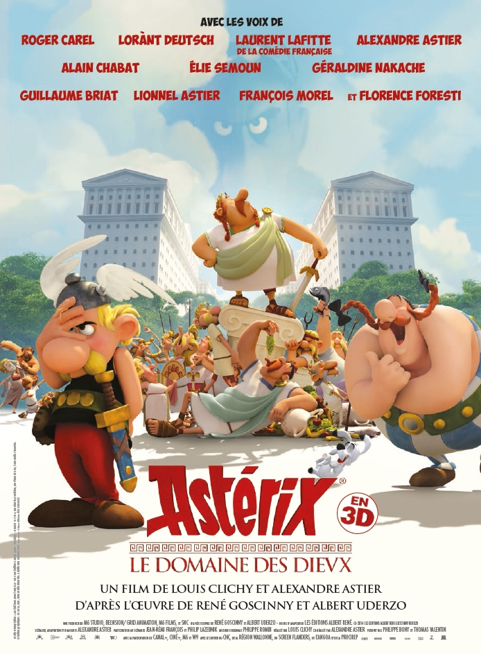 Asterix: The Land of the Gods