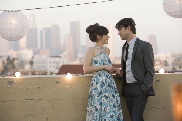 Zooey Deschanel and Joseph Gordon-Levitt in 500 Days of Summer (2009)