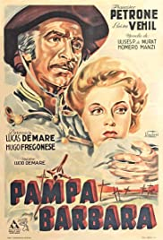 Pampa bárbara Poster