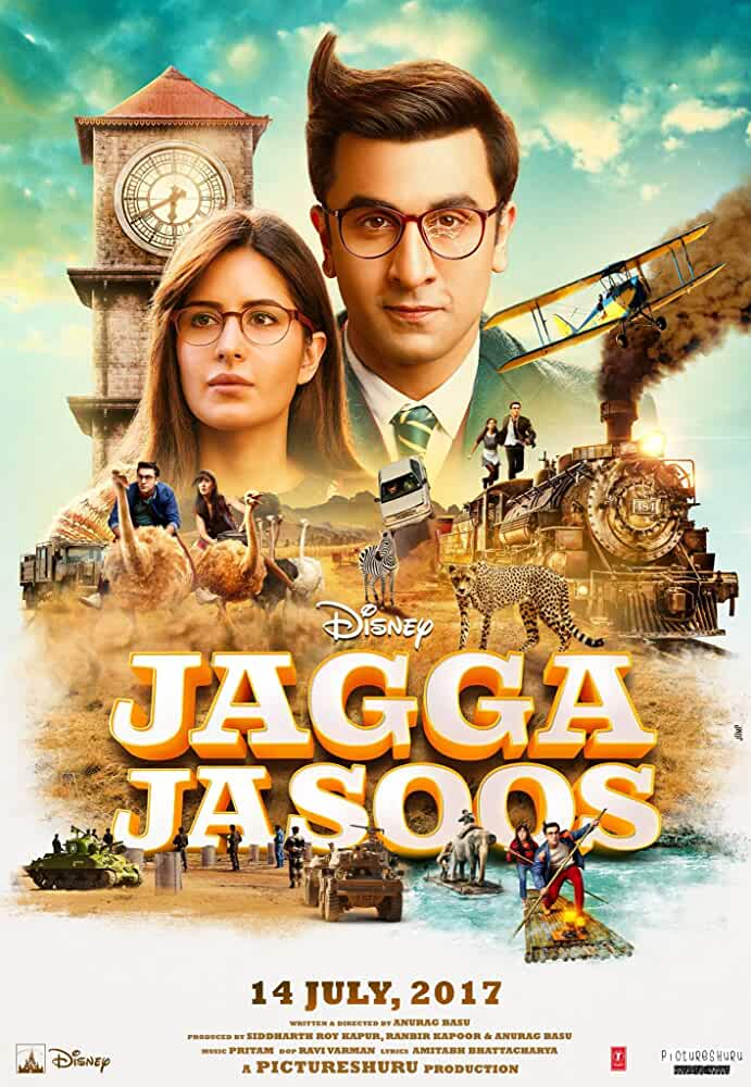 Jagga Jasoos 2017 Hindi Untouched HD-CAM-x264-AAC Watch Online Free Download at movies365.me