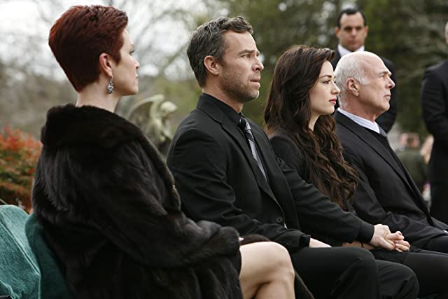 JR Bourne, Michael Hogan, Eaddy Mays, and Crystal Reed in Teen Wolf (2011)