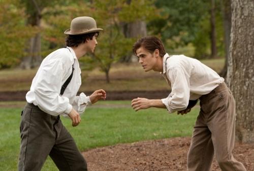Ian Somerhalder and Paul Wesley in The Vampire Diaries (2009)