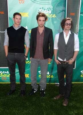 Robert Pattinson, Kellan Lutz, and Jackson Rathbone