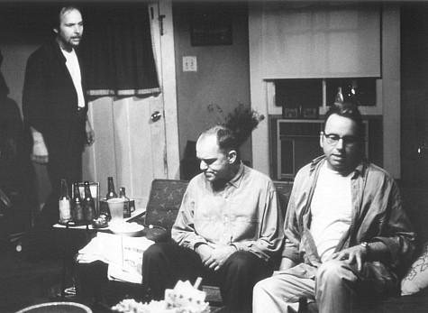 John Ritter, Billy Bob Thornton, and Dwight Yoakam in Sling Blade (1996)