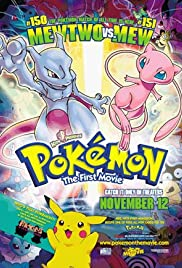 Pokémon: The First Movie - Mewtwo Strikes Back Poster