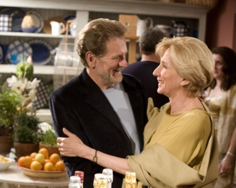 Olympia Dukakis and Robert Foxworth in The Librarian: Return to King Solomon's Mines (2006)