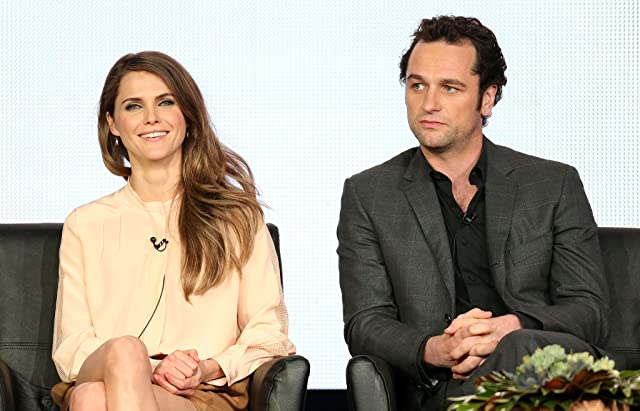 Keri Russell and Matthew Rhys at The Americans (2013)