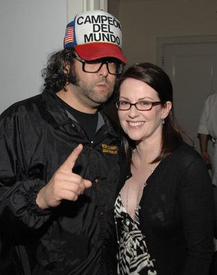 Megan Mullally and Judah Friedlander at 30 Rock (2006)