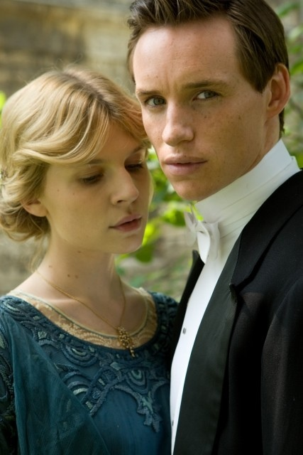 Clémence Poésy and Eddie Redmayne in Birdsong (2012)