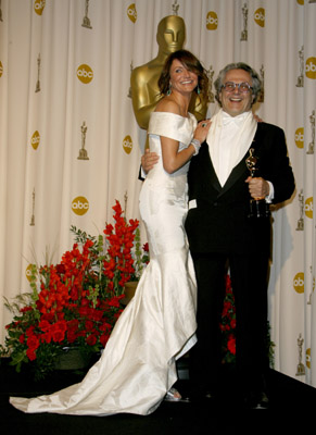 Cameron Diaz and George Miller at The 79th Annual Academy Awards (2007)