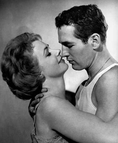 Paul Newman and Piper Laurie in The Hustler (1961)